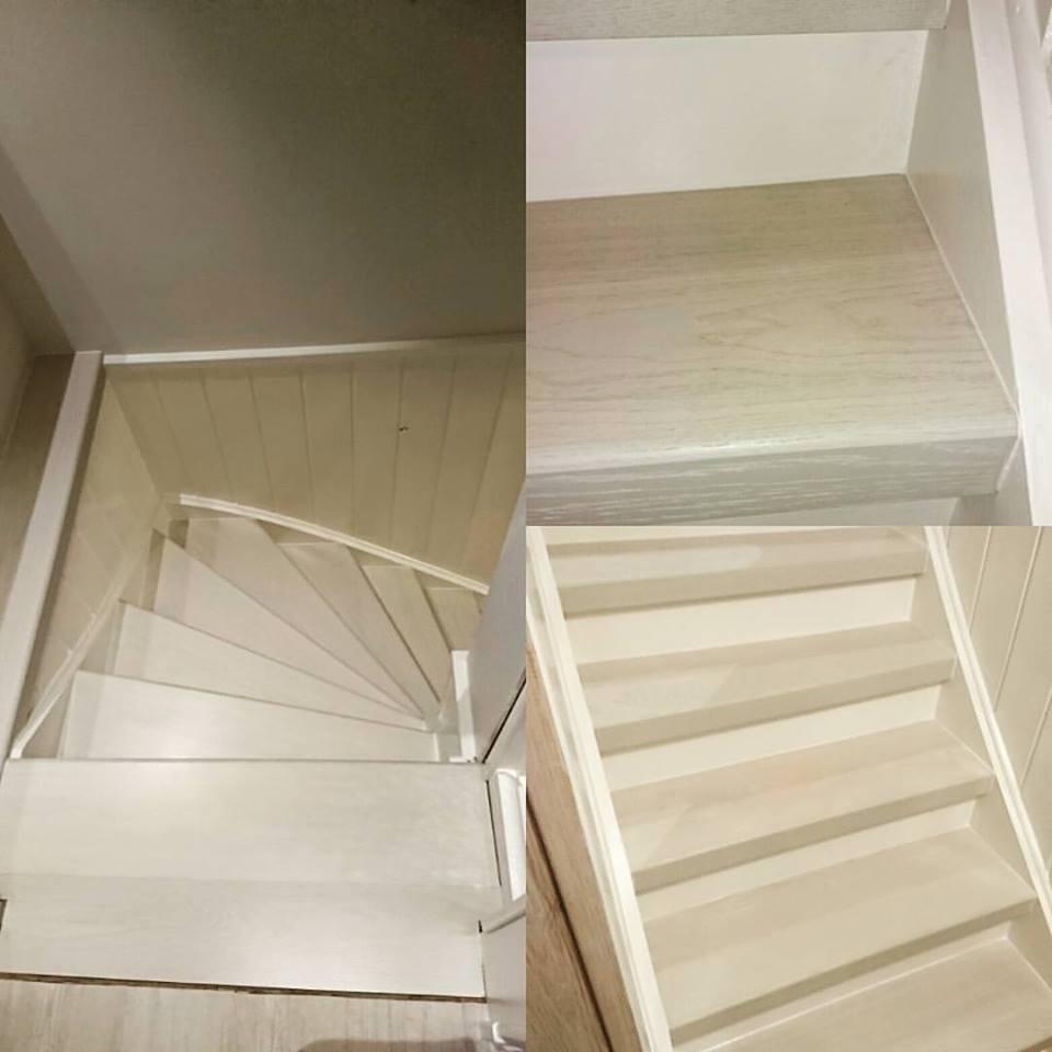 Ek Helstav - Vit betsad - FormTrappan - Renovera din trappa ...